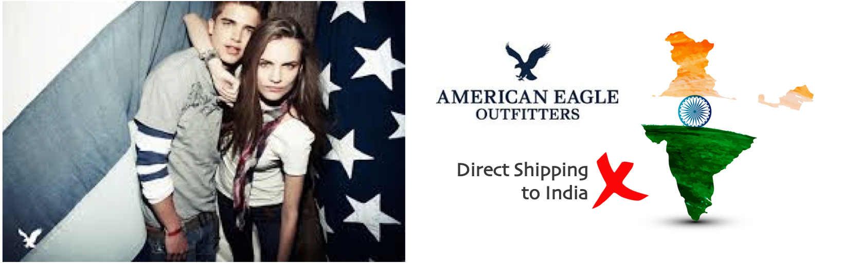 shop American Eagle ship to india