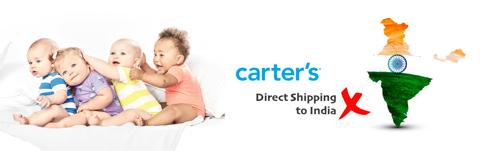 shop carter's ship to india