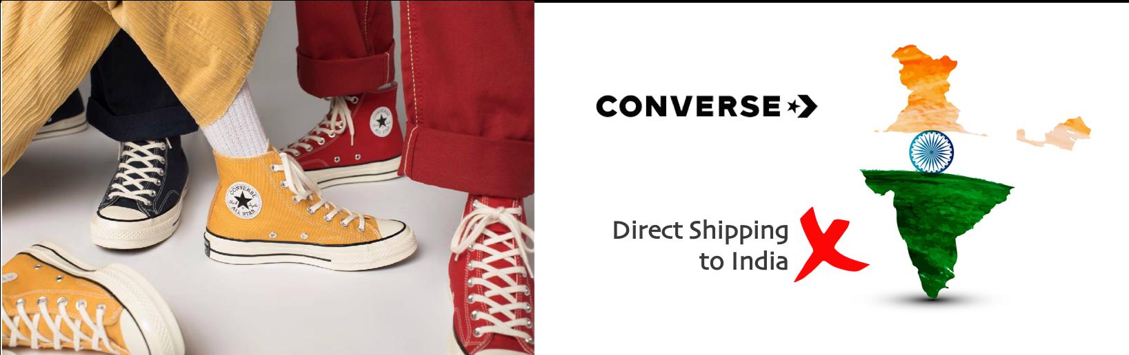 shop Converse ship to india