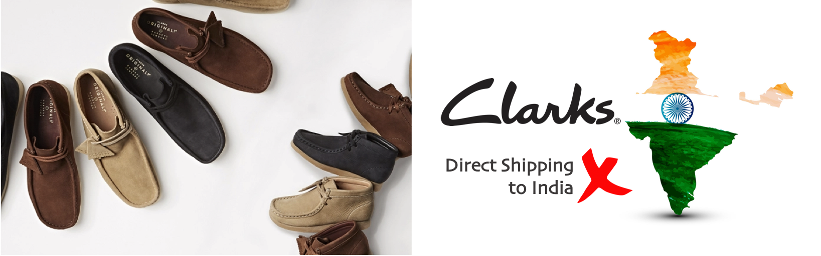 shop Clarks ship to india