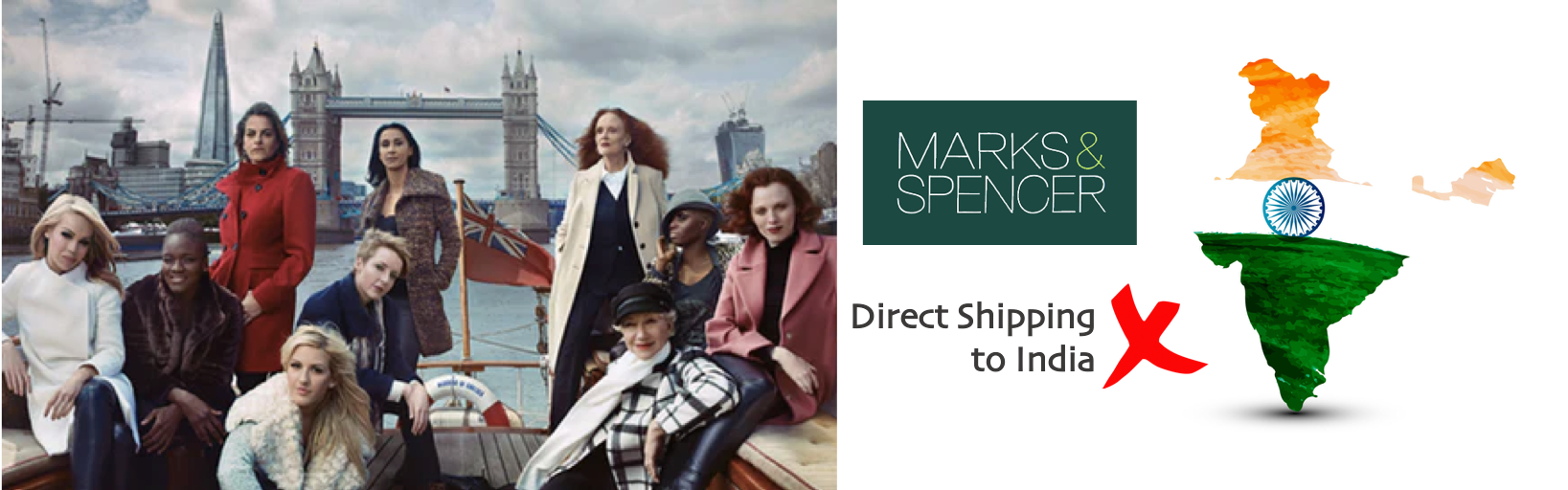shop Marks & Spencer ship to india