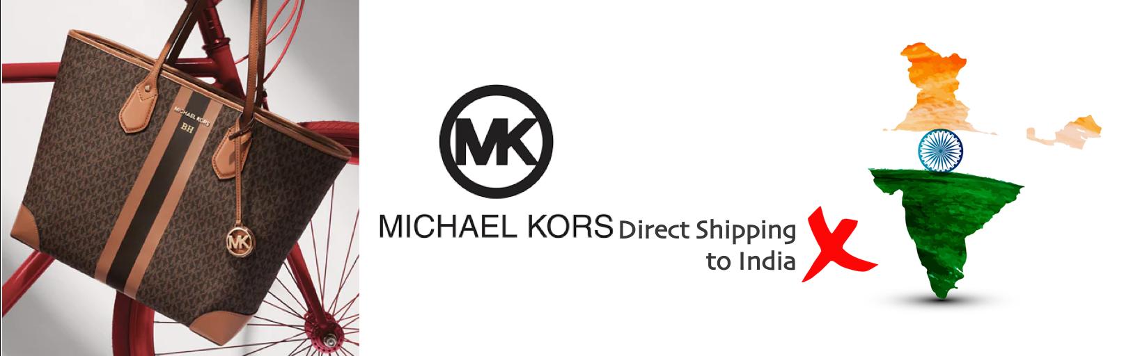 shop Michael Kors ship to india