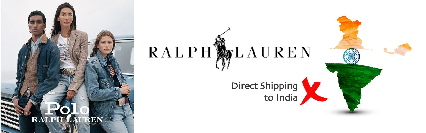 shop Ralph Lauren ship to india