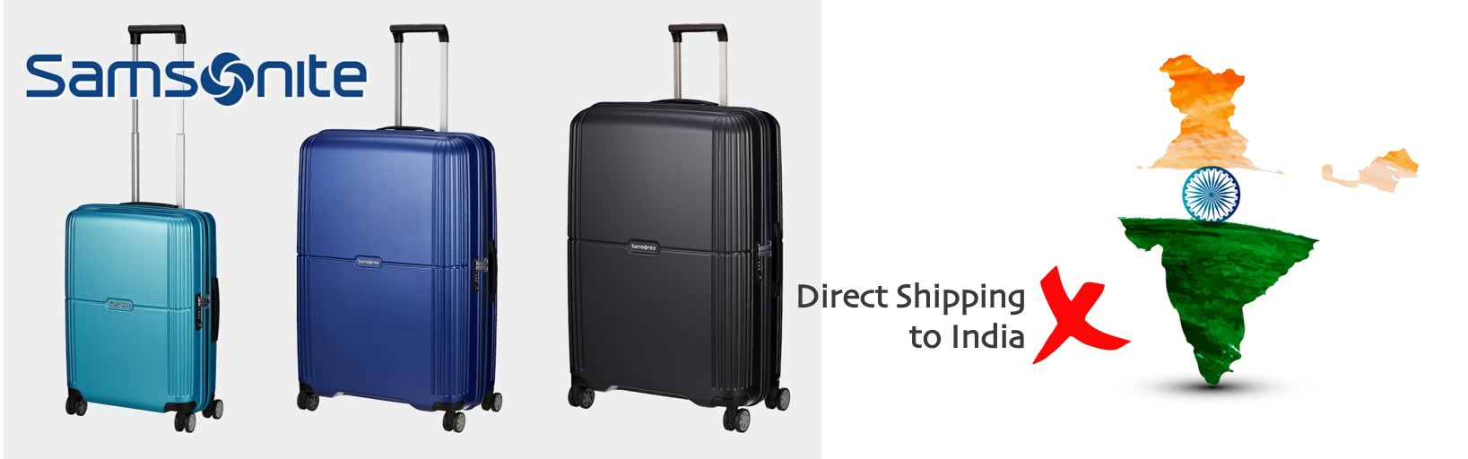 shop Samsonite ship to india