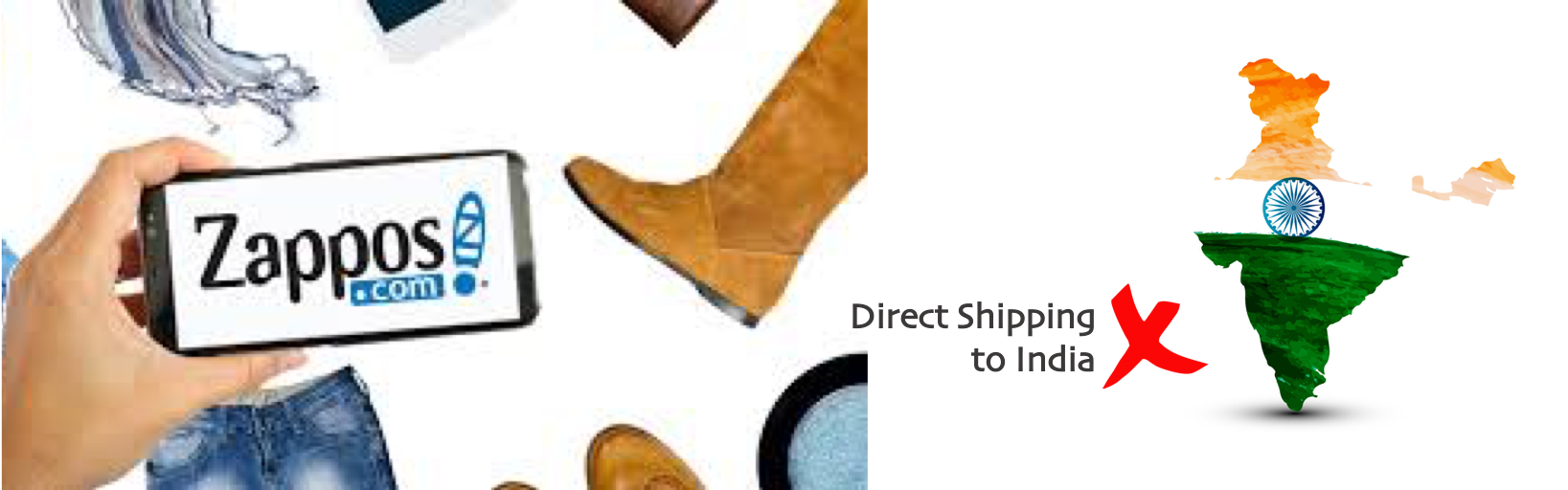 shop Zappos ship to india