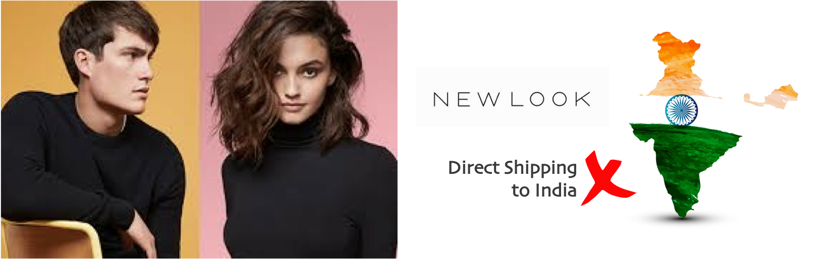 shop New Look ship to india